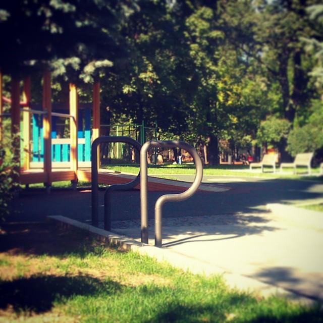Велопарковки для школ