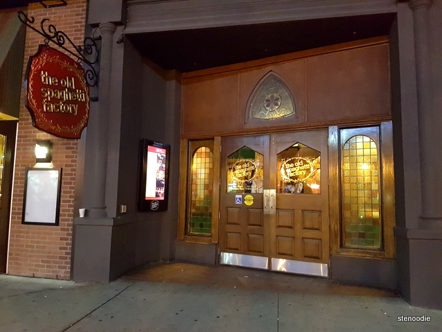 The Old Spaghetti Factory entrance