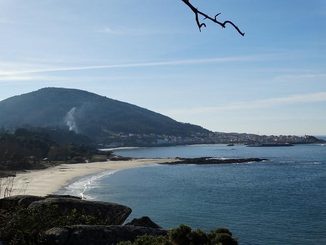 Mirador de Caveiro en Porto do Son