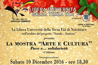 Noicattaro. Mostra Lute front