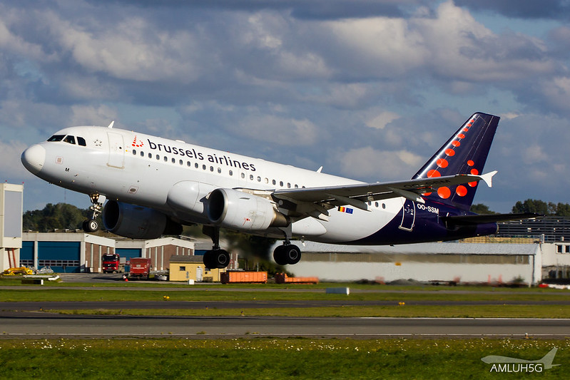 Brussels Airlines - A319 - OO-SSM (1)