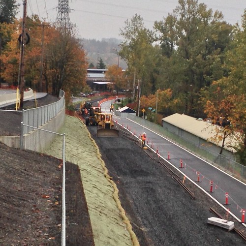 Rebuilding the SP line from Portland to Lake Oswego