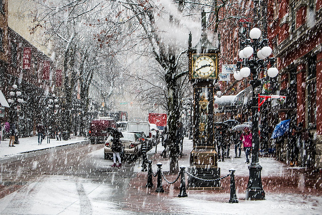 Glorious Gastown ?❄️ Vancouver, BC
