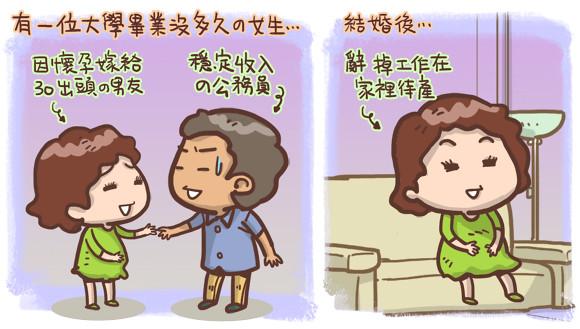 夫妻婚姻生活圖文1
