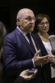 Vendredi 21 octobre - Discours de clôture par le ministre Michel Sapin
