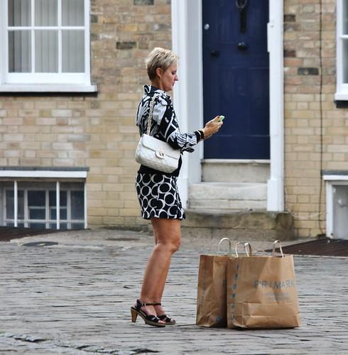 Ladies Black Slingback Shoes