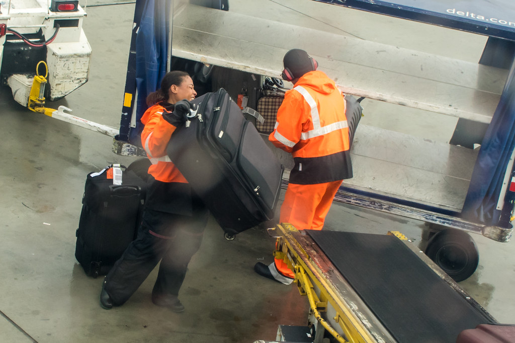 Baggage handling in USA