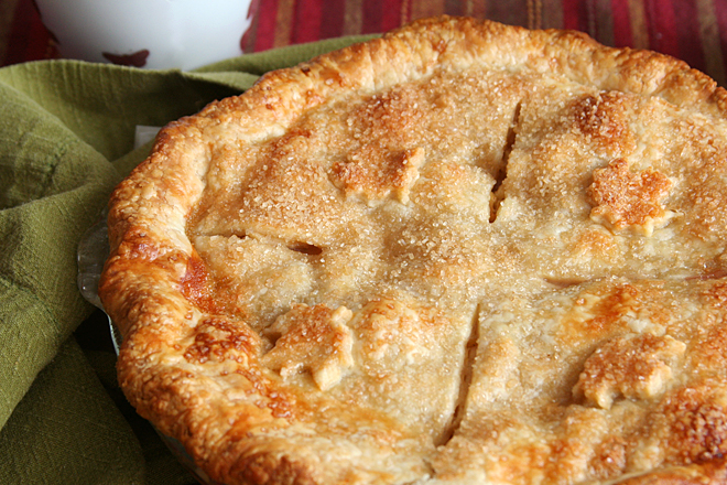 apple cranberry pie 6