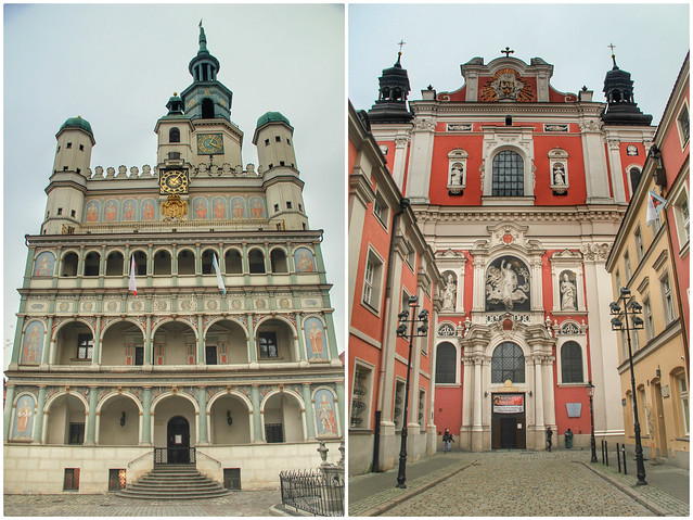 Town Hall and Parish Church, Poznan