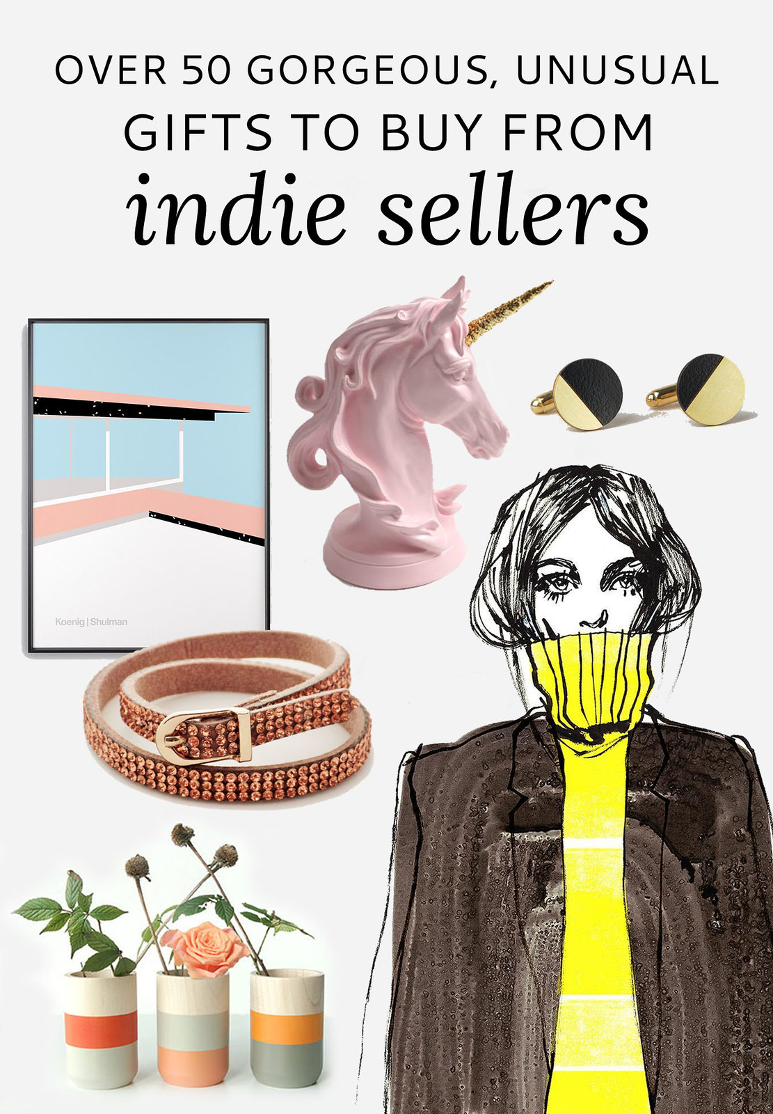 Over 50 Gorgeous, Unusual Gifts to Buy From 7 Indie Sellers (Black Friday Discounts) | Not Dressed As Lamb