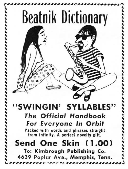 Beatnik Dictionary, 1960 | by Tom Simpson
