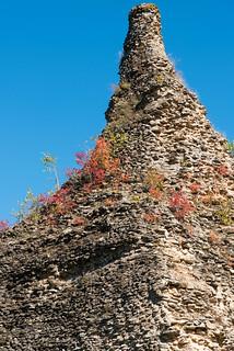 Pyramide von Couhard (römisches Grab) in Autun