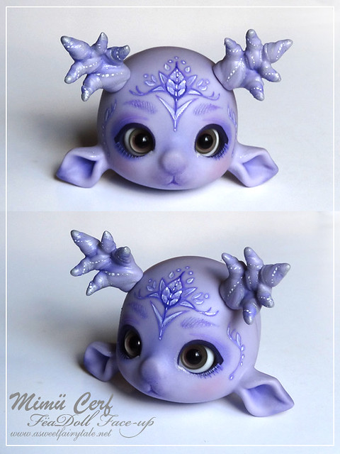 Mimu cerf violet skin avec face-up