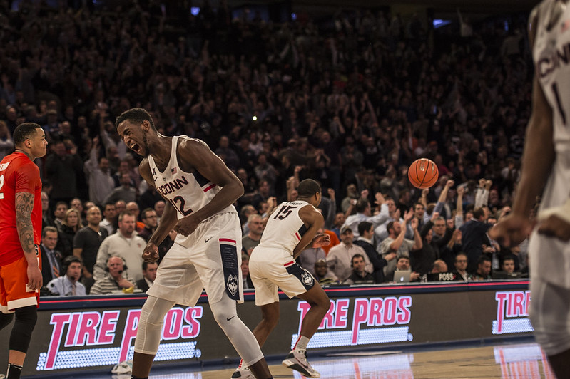 SU Basketball: Syracuse vs UCONN at MSG