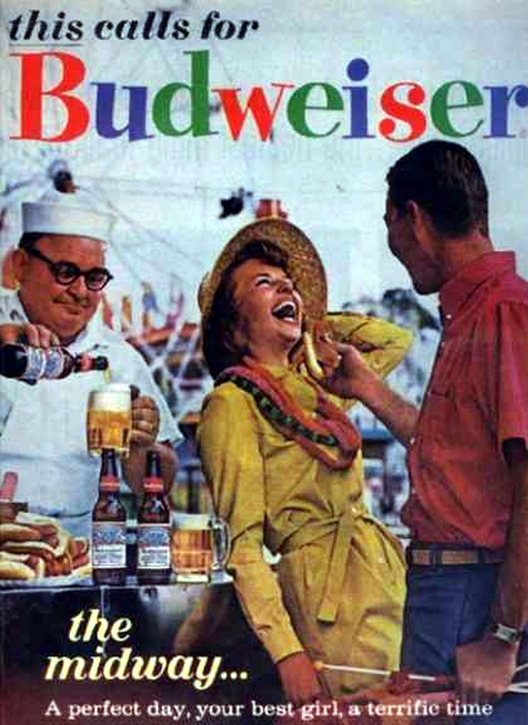 1963-this-calls-for-Budweiser-the-midway...
