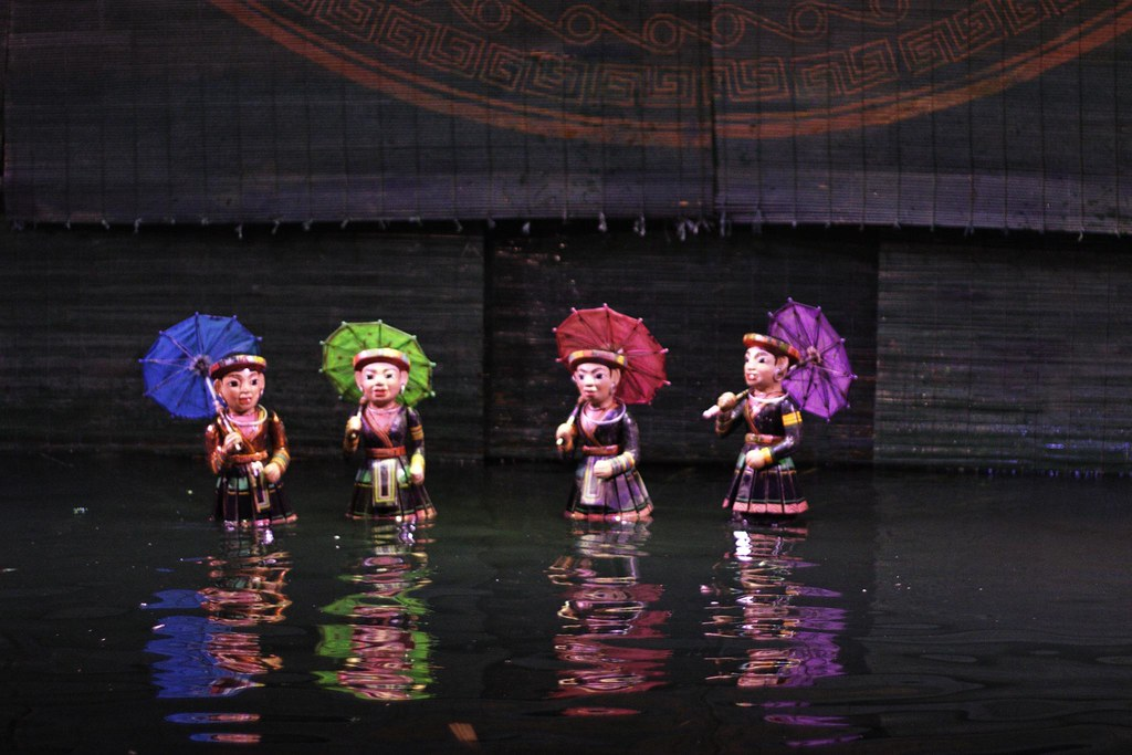Ha Noi, Thang Long Water Puppet Theater, Vietnam
