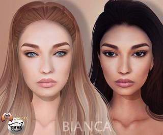 Bianca skin for Catwa heads
