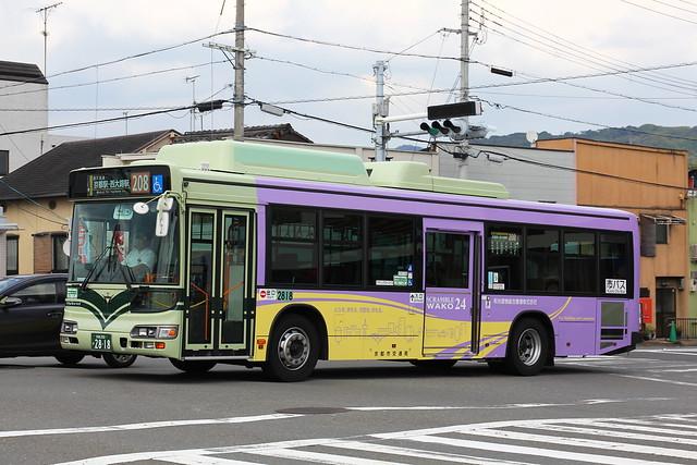 2016/09/02 京都市交通局 2818