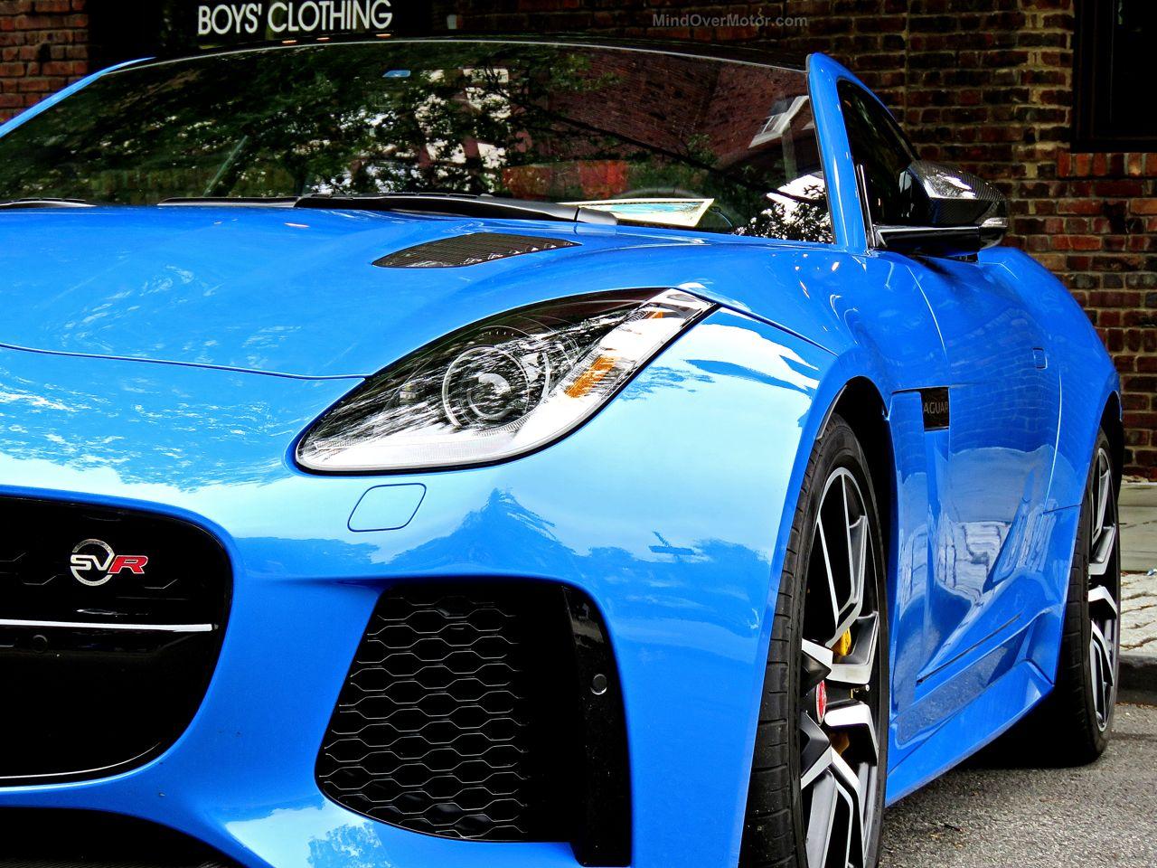 Jaguar F-Type SVR Ultra Blue 6