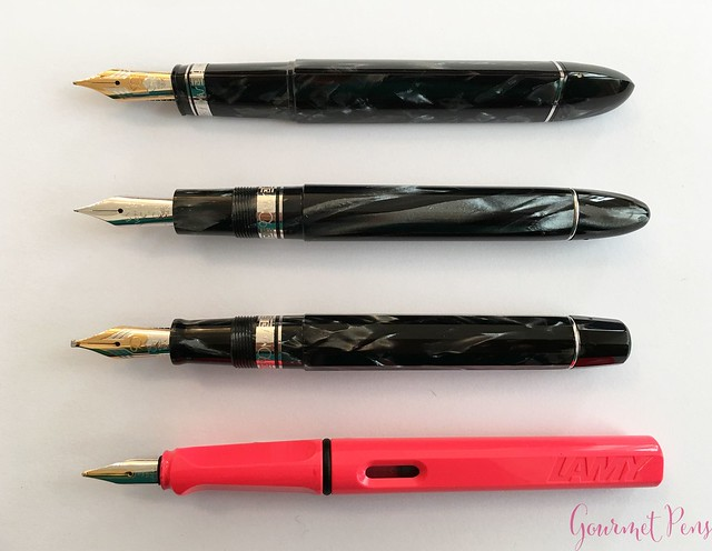 Review 90th Anniversary Omas Icons Celluloid Collection Set @PapierundStift 19