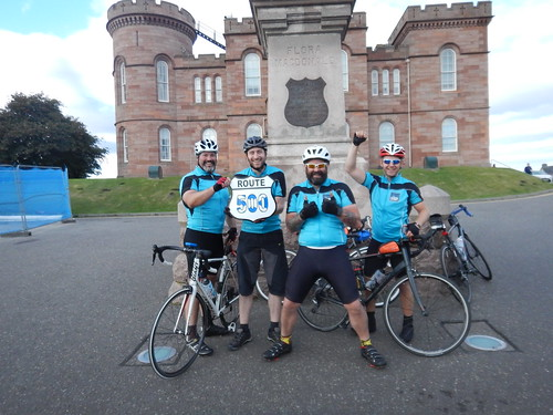 Cycling the NC500 in 6 days