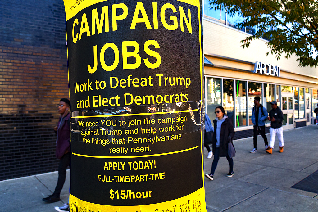 Anti-Trump jobs advertised--Fairmount