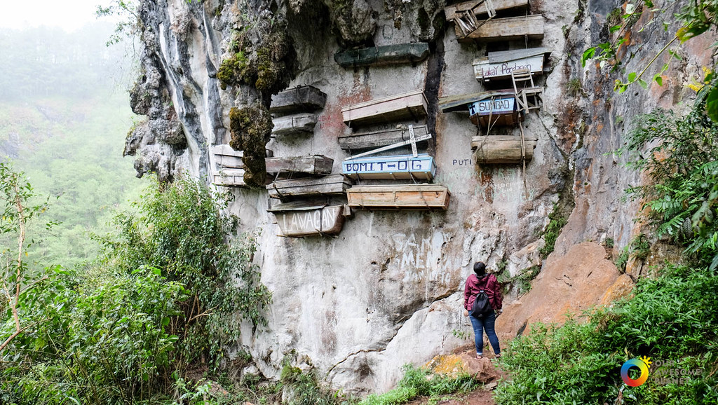 Image result for The Hanging Coffins, Sagada Filipina