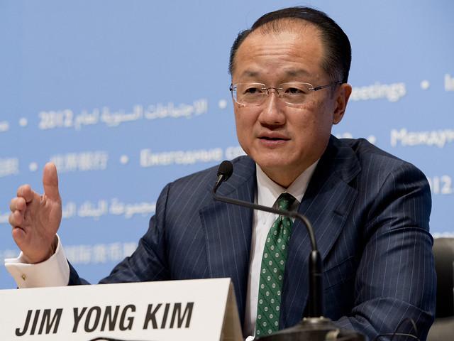 विश्व बैंक समूह के चेयरमैन जिम योंग किम