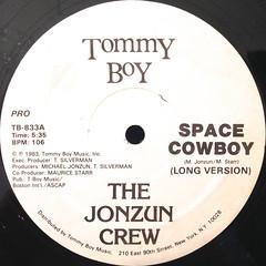 THE JONZUN CREW:SPACE COWBOY(LABEL SIDE-A)