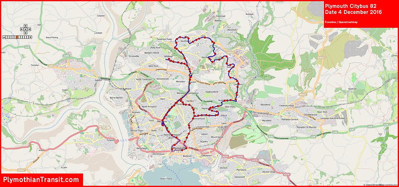 2016 12 04 Plymouth Citybus Route-082 MAP.jpg