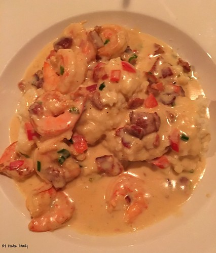 Shrimp and Parmesan Grits