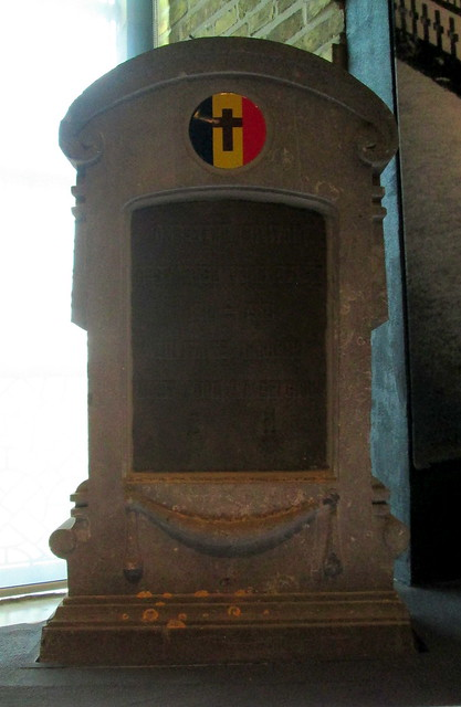 Belgian Headstone, In Flanders Fields Museum