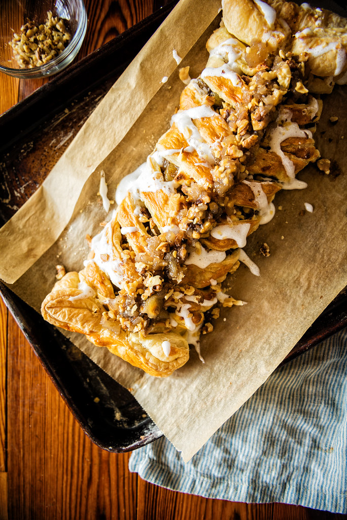 Puff Pastry Austrian Apple Strudel Recipe is a quick copycat recipe that can be made at home with under 10 ingredients!