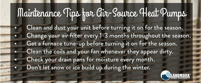 Maintnenance Tips for Air Source Heat Pumps