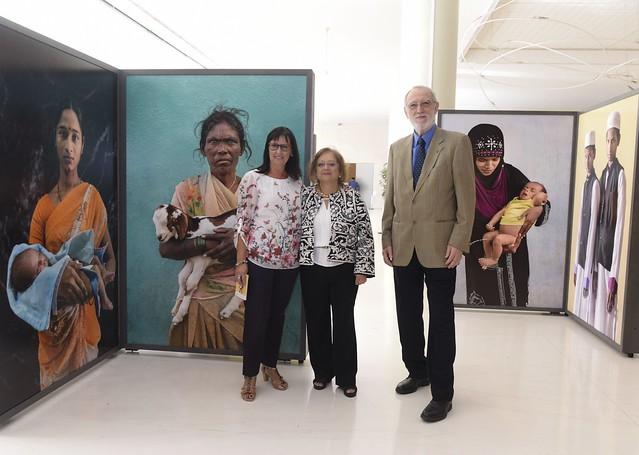 """Apertura exposición """"Tierra de Sueños"""", en CaixaForum Barcelona (21 set. 2016)"""