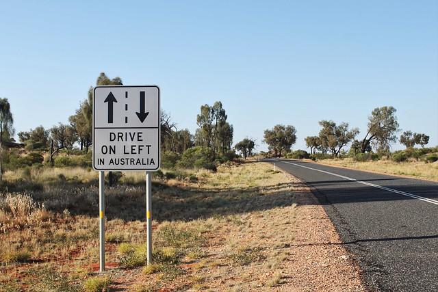 drive left