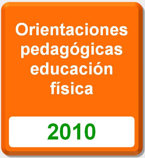 orientaciones pedagógicas