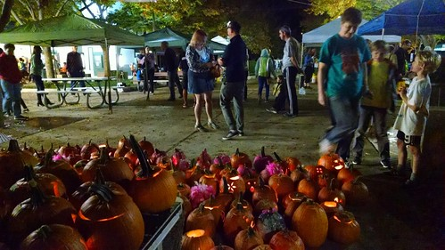 At the Greenbelt Pumpkin Festival.