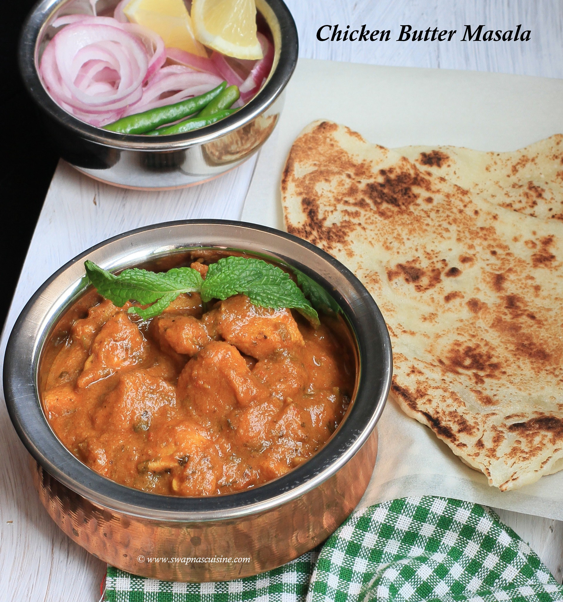 Panjabi chicken Butter Masala Recipe