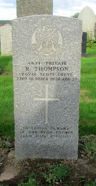 War Grave Leslie, Fife