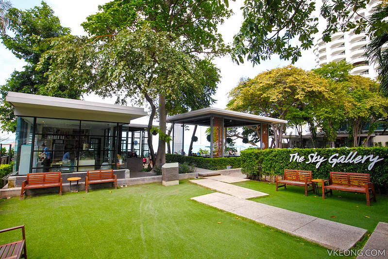 The Sky Gallery Restaurant Pattaya Entrance