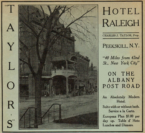 1915 Hotel Raleigh Ad
