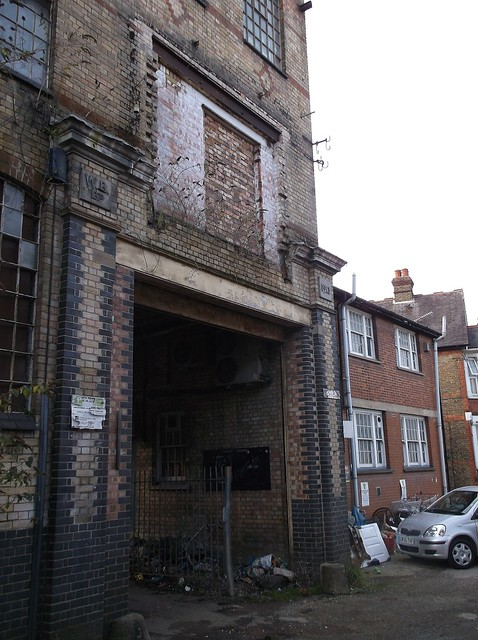 Wycombe warehouse entrance