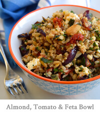 Almond, Tomato & Feta Five Grain Bowl