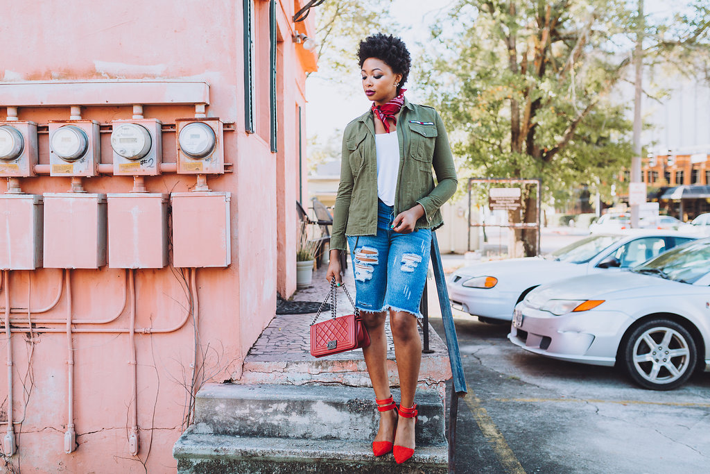 how to wear a utility jacket, the beauty beau