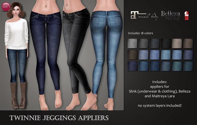 Twinnie Jeggings Appliers