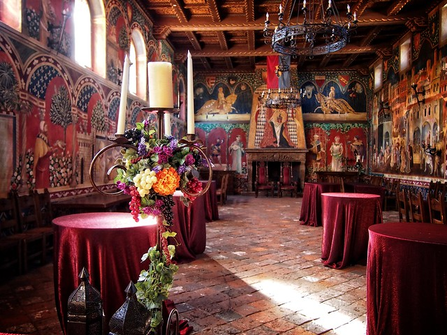 Castello Di Amorosa Dining Hall