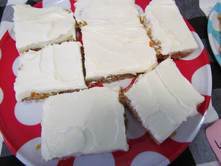 GF Lemon Macadamia Apricot Fudge Slice