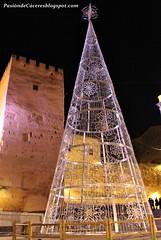 Encendido navideño Cáceres 2016