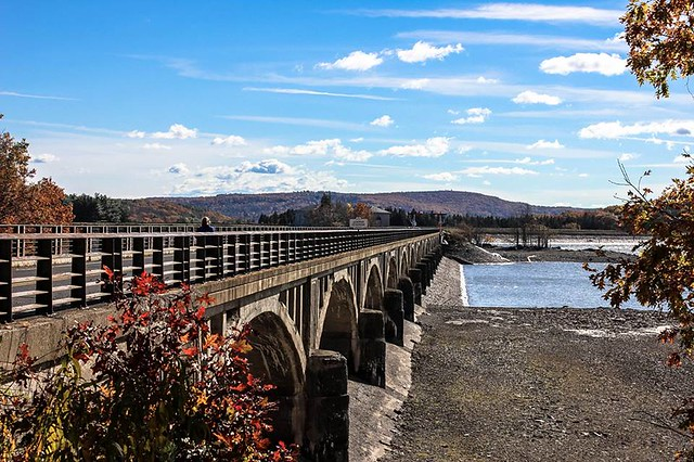 Bridge over the Ashokan Reservoir
